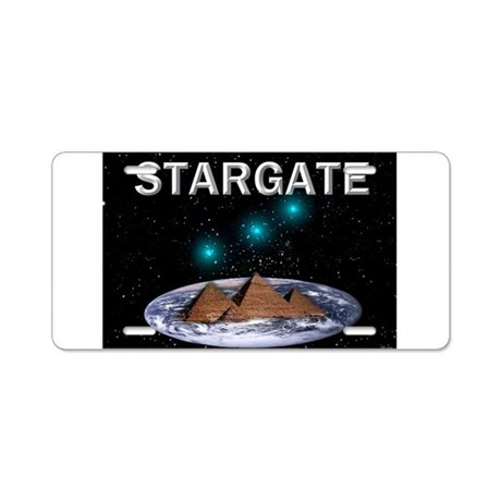Jmcks Stargate Aluminum License Plate