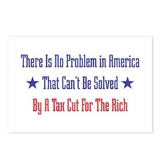 Tax Cut For Rich Postcards (Package of 8)