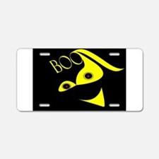Jmcks Boo Aluminum License Plate