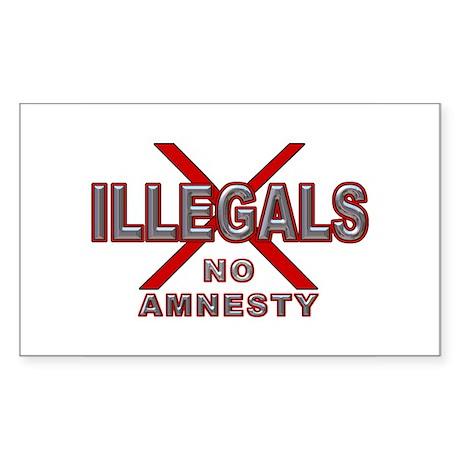 IllegalsX D21 mx2 Rectangle Sticker