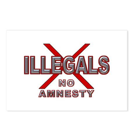 IllegalsX D21 mx2 Postcards (Package of 8)