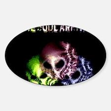 Jmcks The Soul Arrival Sticker (Oval)
