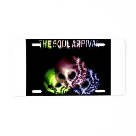 Jmcks The Soul Arrival Aluminum License Plate
