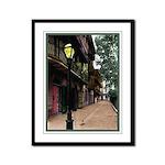 New Orleans Street Scene Framed  Print