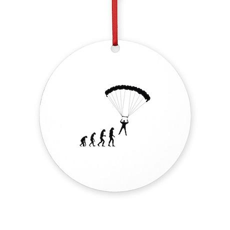 Evolution paragliding Ornament (Round)