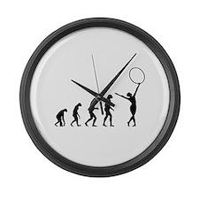 Evolution gymnastics Large Wall Clock