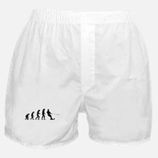 Evolution water skiing Boxer Shorts