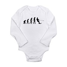 Evolution water skiing Long Sleeve Infant Bodysuit