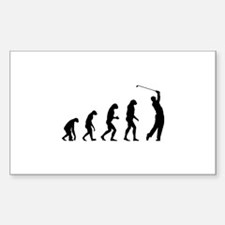 Evolution golfing Decal