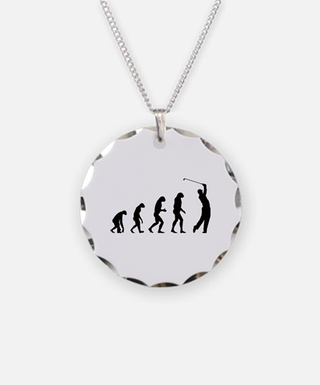 Evolution golfing Necklace