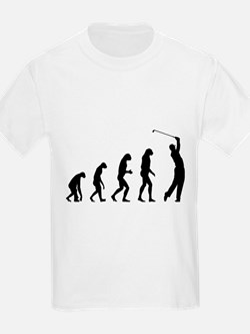Evolution golfing T-Shirt