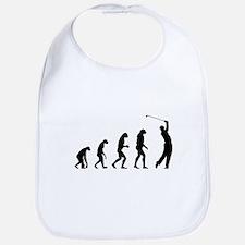 Evolution golfing Bib