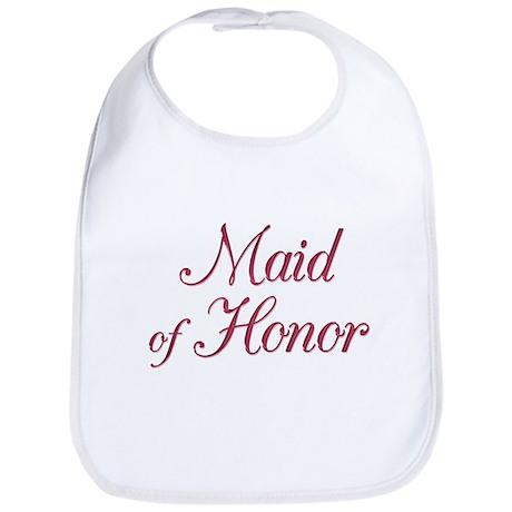 Maid of Honor (wine) Bib