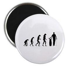 Evolution golfing Magnet