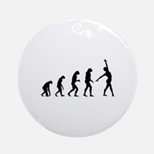 Evolution gymnastics Ornament (Round)