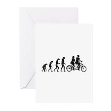 Evolution tandem Greeting Cards (Pk of 20)