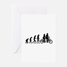 Evolution tandem Greeting Cards (Pk of 20)