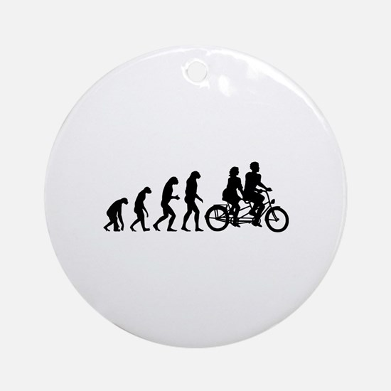 Evolution tandem Ornament (Round)
