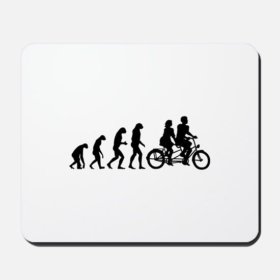 Evolution tandem Mousepad