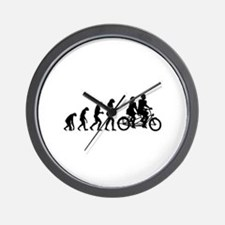 Evolution tandem Wall Clock