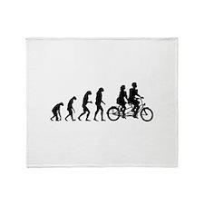Evolution tandem Throw Blanket