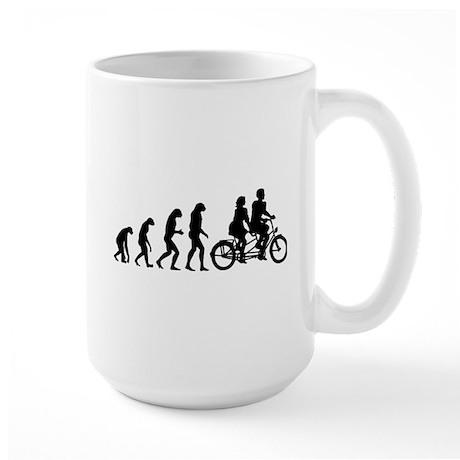 Evolution tandem Large Mug