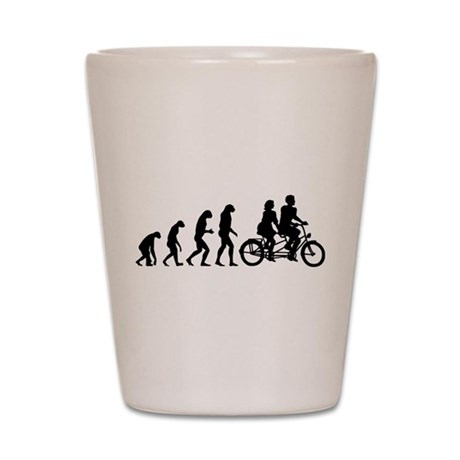 Evolution tandem Shot Glass