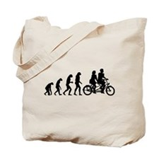 Evolution tandem Tote Bag