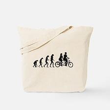 Evolution tandem Tote Bag