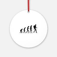 Evolution backpacker Ornament (Round)