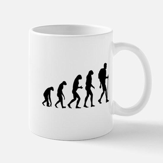 Evolution backpacker Mug