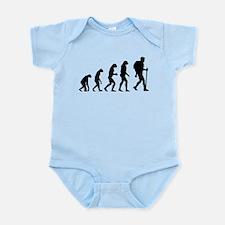 Evolution backpacker Infant Bodysuit