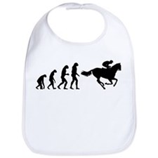 Evolution horse riding Bib