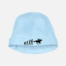Evolution horse riding baby hat