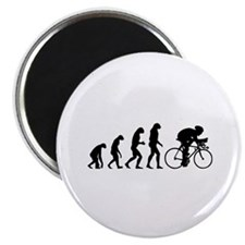 "Evolution cyclist 2.25"" Magnet (100 pack)"