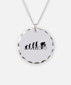 Evolution cyclist Necklace