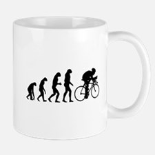 Evolution cyclist Mug