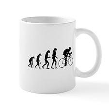 Evolution cyclist Mug