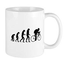 Evolution cyclist Small Mug