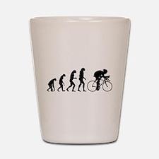 Evolution cyclist Shot Glass