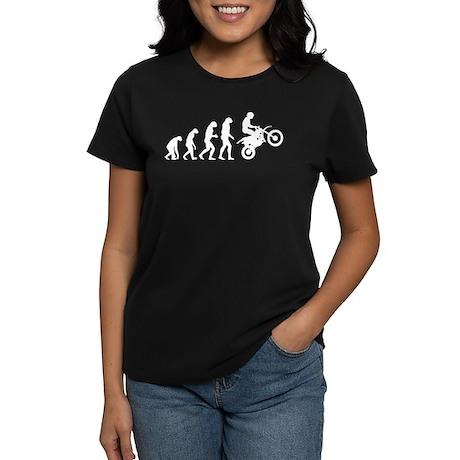 Evolution motocross Women's Dark T-Shirt
