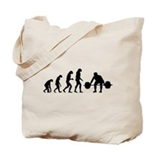 Evolution weight lifting Tote Bag