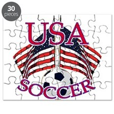 USA Soccer Puzzle