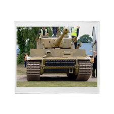 Tiger Tank Throw Blanket
