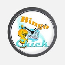 Bingo Chick #2 Wall Clock