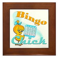 Bingo Chick #2 Framed Tile