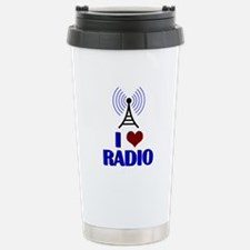 I Love Radio Travel Mug