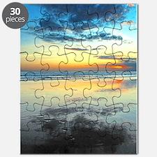 Blue Bali Sunset Puzzle