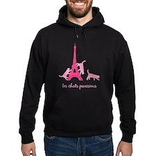 Cats of Paris (dark) Hoodie
