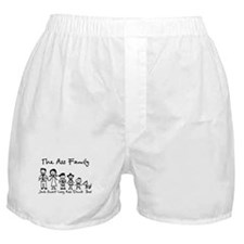 Ass Family Boxer Shorts